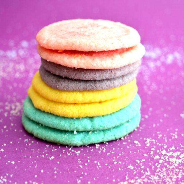 Πολύχρωμα ζελεδένια μπισκότα για παιδιά, πάρτυ και όχι μόνο