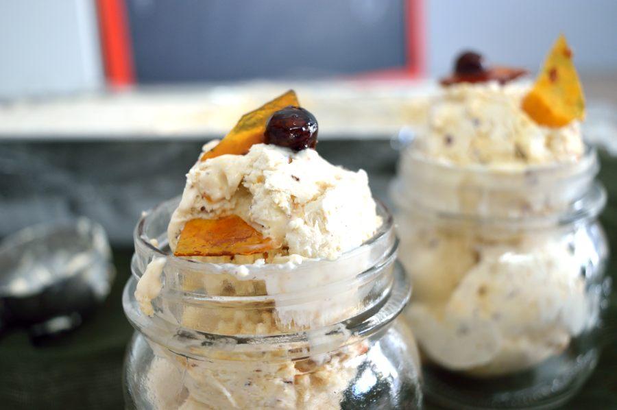 Παγωτό - τούρτα πραλίνα φουντουκιού
