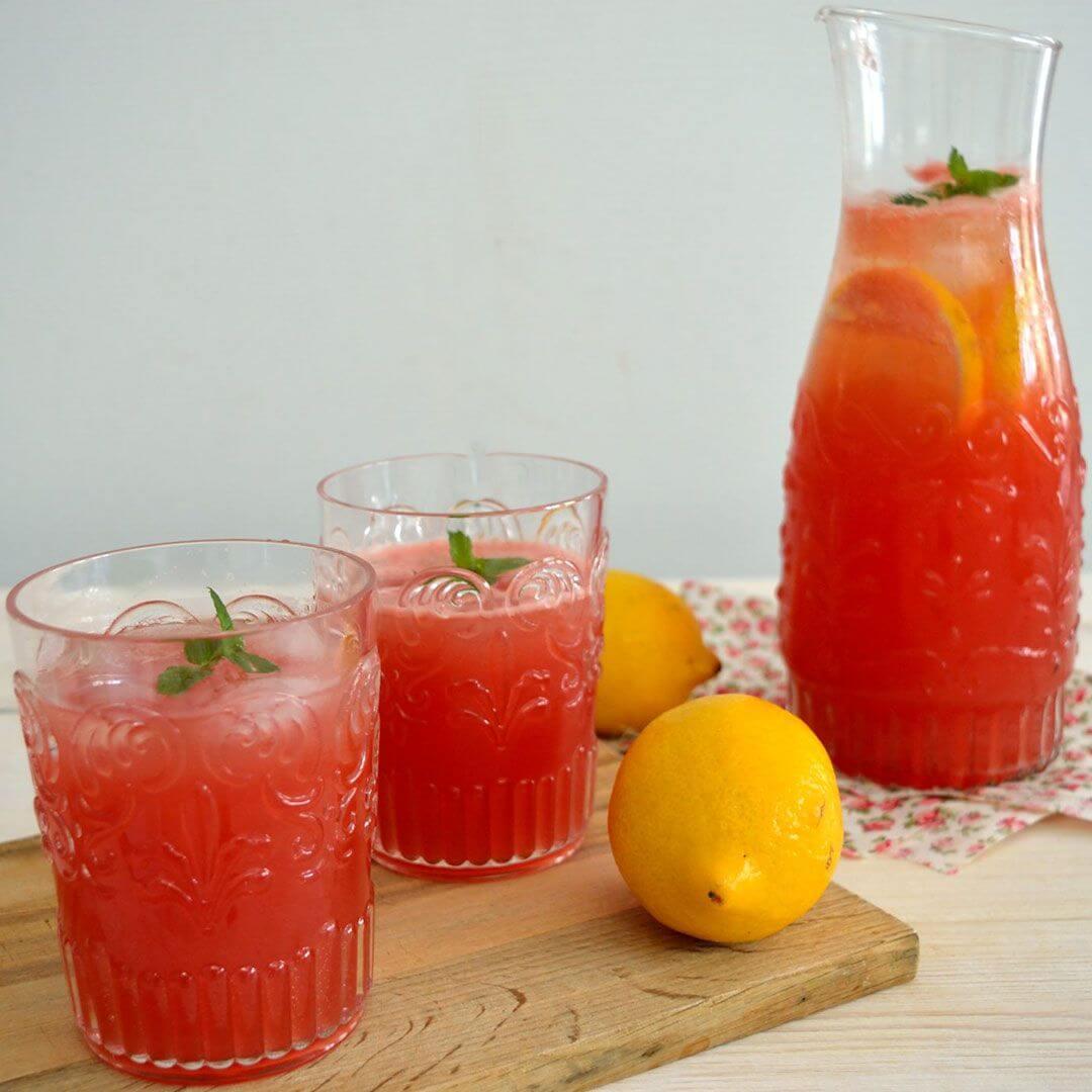 λεμονάδα με καρπούζι