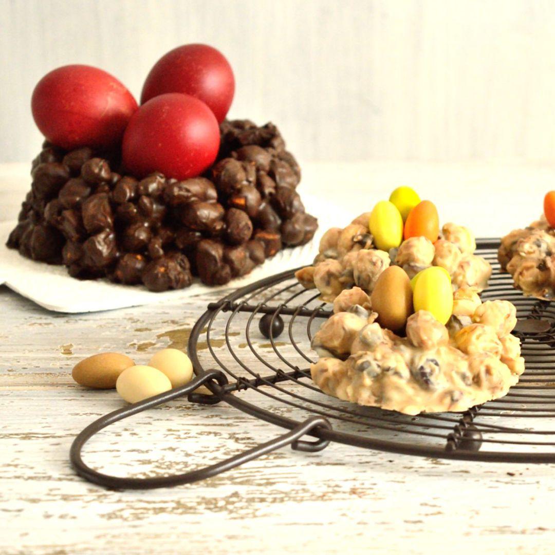 Πασχαλινές σοκολατένιες φωλιές