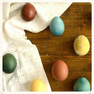 Πως βάφω Πασχαλινά αυγά με φυσικούς τρόπους