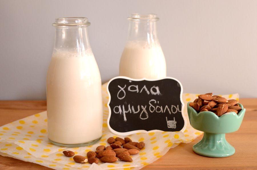 Πως φτιάχνω γάλα αμυγδάλου
