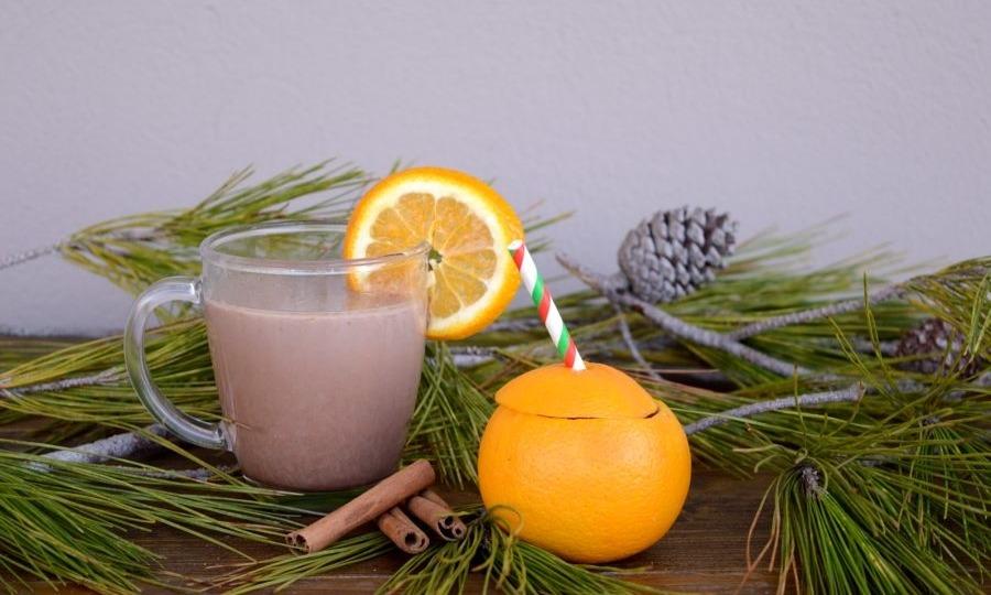 Ζεστή σοκολάτα με άρωμα πορτοκάλι