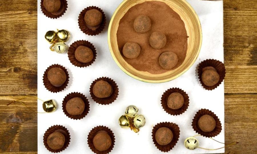 Σοκολατάκια κακάο για κέρασμα ή δώρο