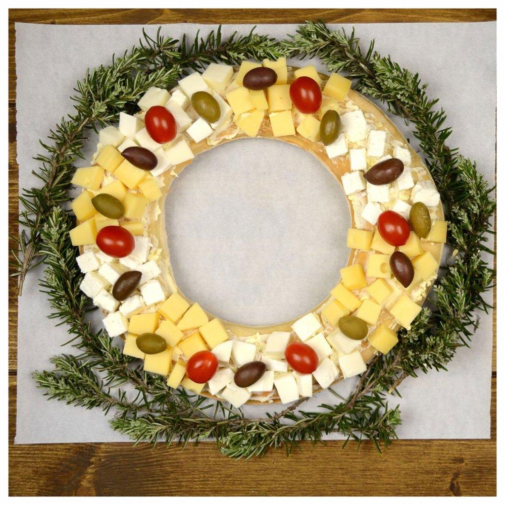 Στεφάνι από τυριά