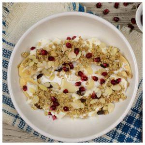 Πρωινό με banana split