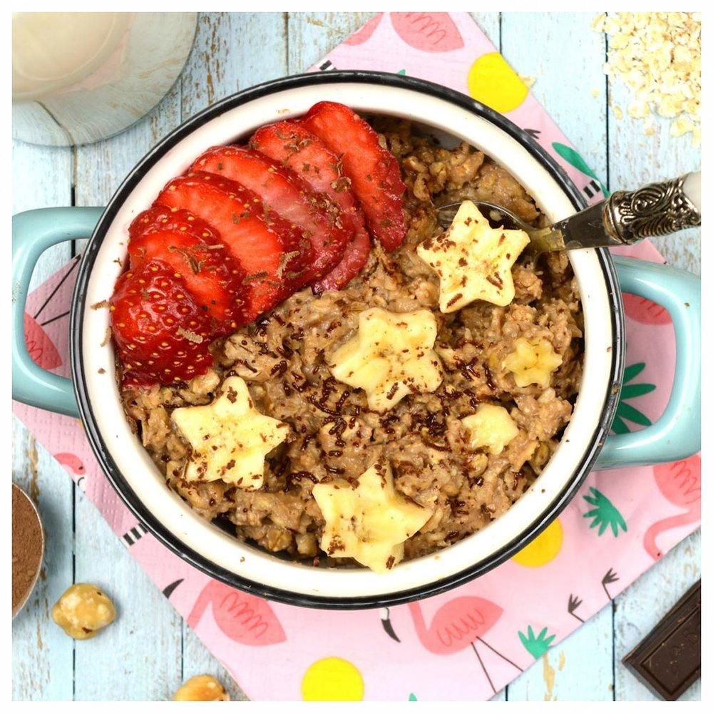 Σοκολατένιο porridge