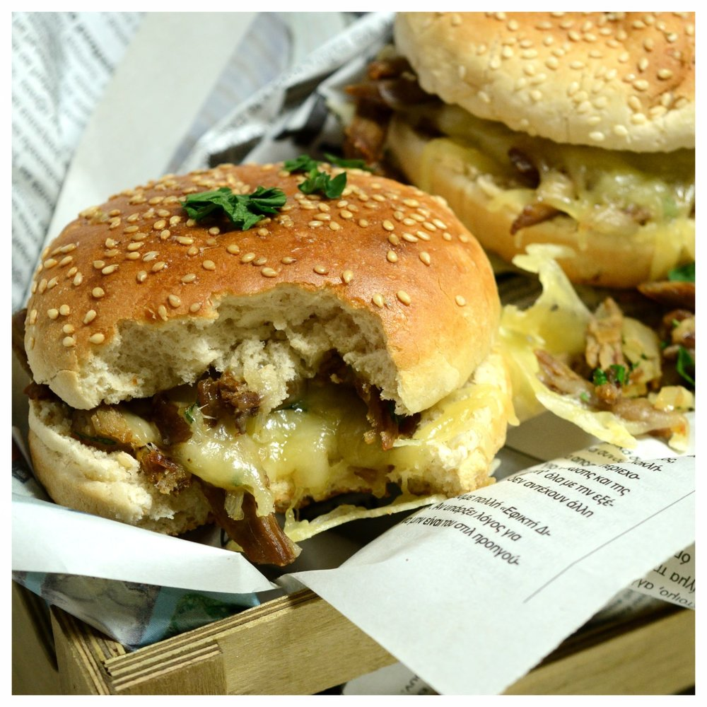 Burger με αρνί