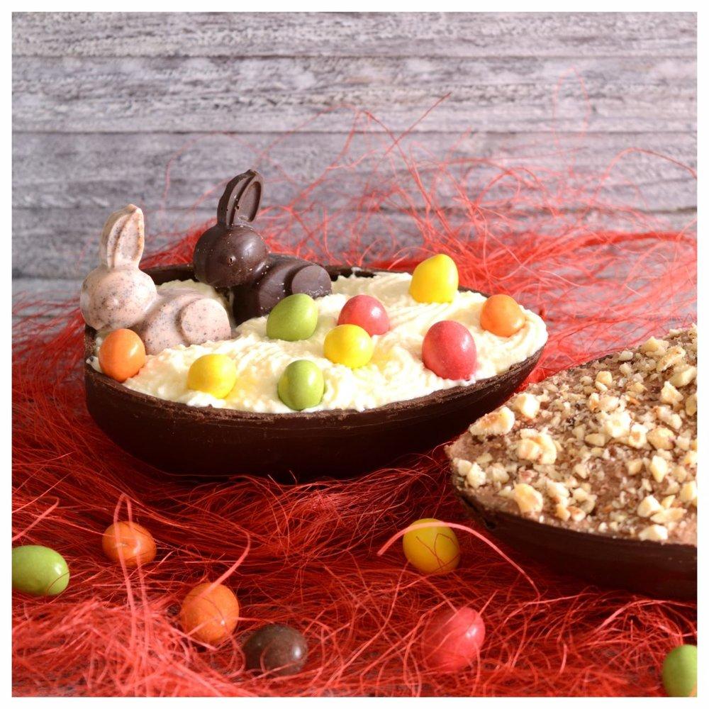 Γεμιστά Πασχαλινά σοκολατένια αυγά