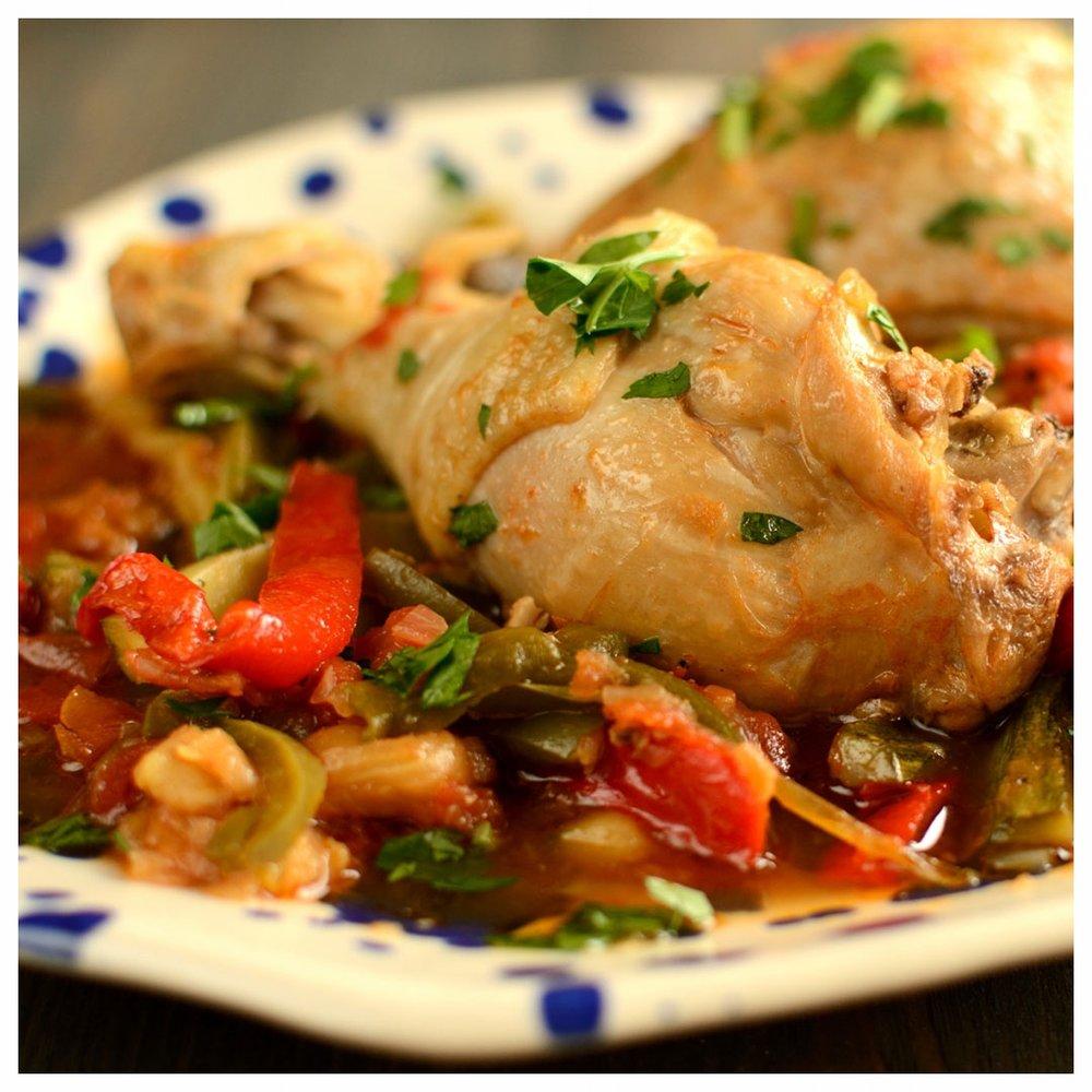 Κοτόπουλο με λαχανικά