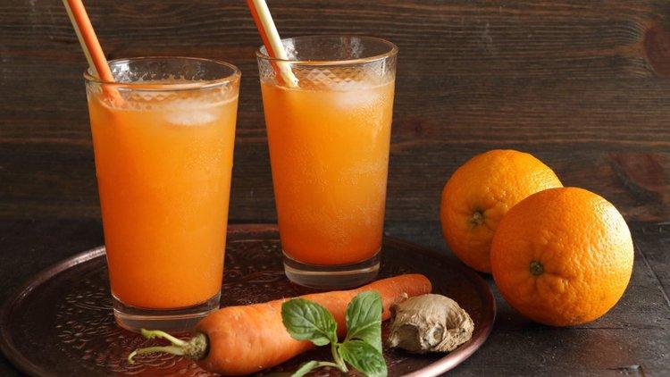 Δυναμωτικός χυμός καρότου