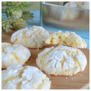 Ραγισμένα μπισκότα λεμόνι