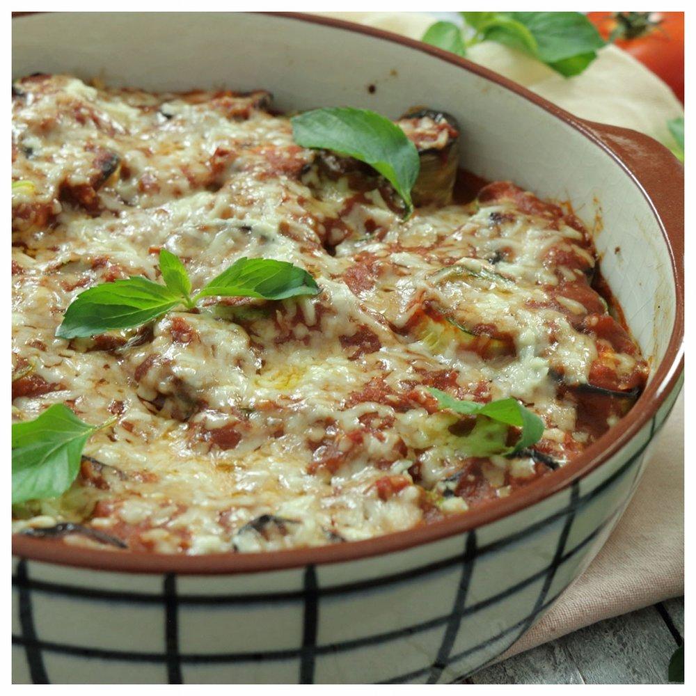 Ρολάκια λαχανικών στο φούρνο