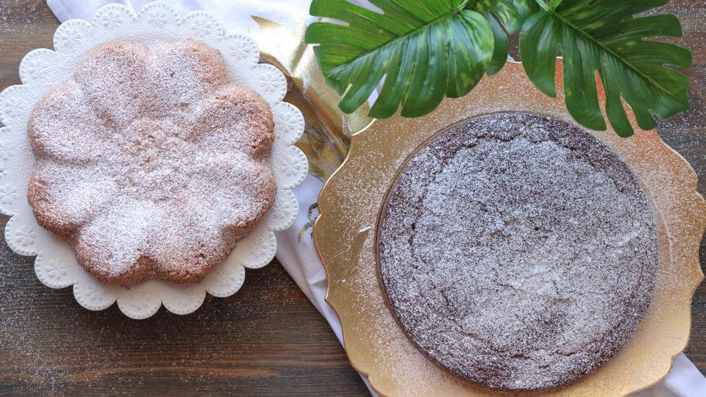 Κέικ με 3 υλικά! Σοκολατένιο και με φυστικοβούτυρο
