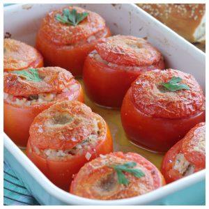 Ντομάτες γεμιστές με τόνο
