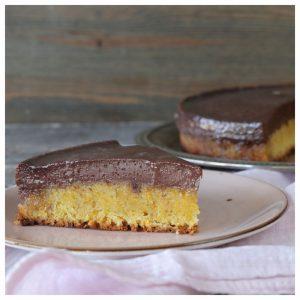 γλυκό σοκολάτα κέικ καρότου