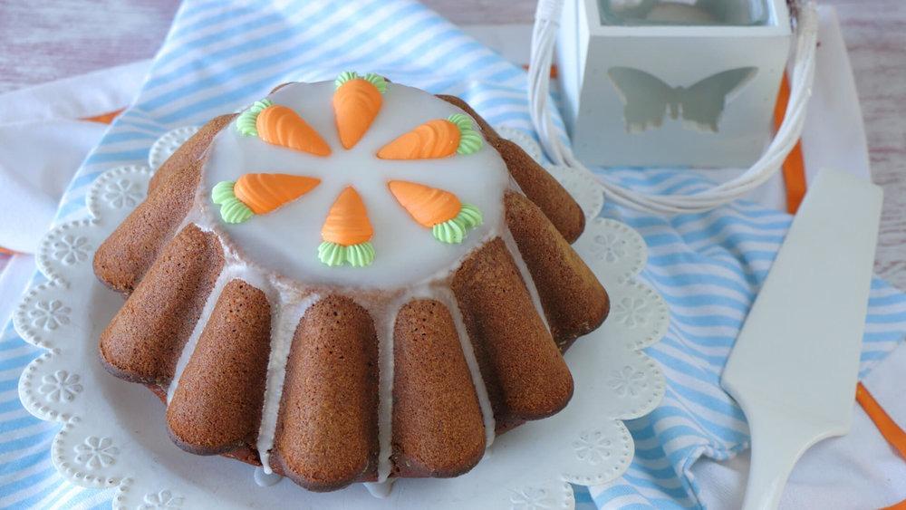 Κέικ καρότου νηστίσιμο και εύκολο