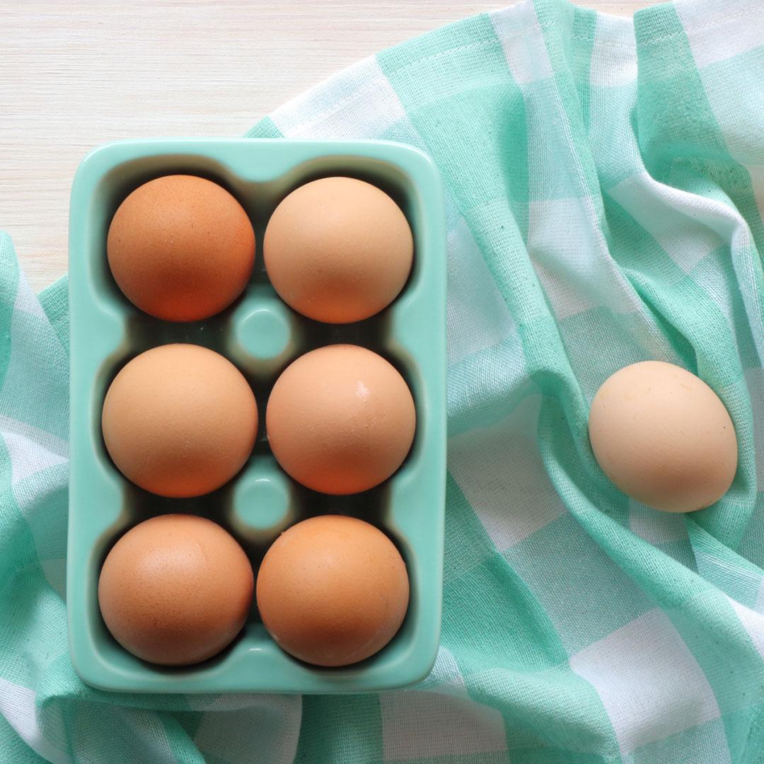 πως παστεριώνω αυγά