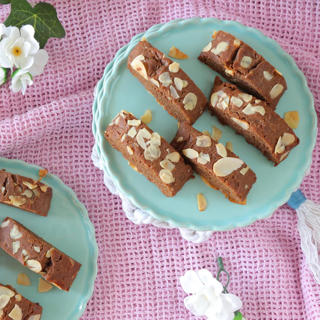 Σοκολατένια παξιμαδάκια χωρίς βούτυρο και αυγά