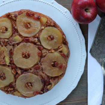 αναποδη μηλοπιτα