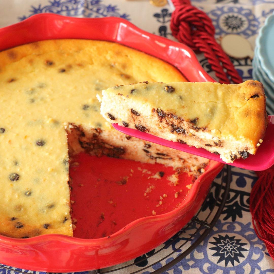 Cheesecake με μυζηθρα