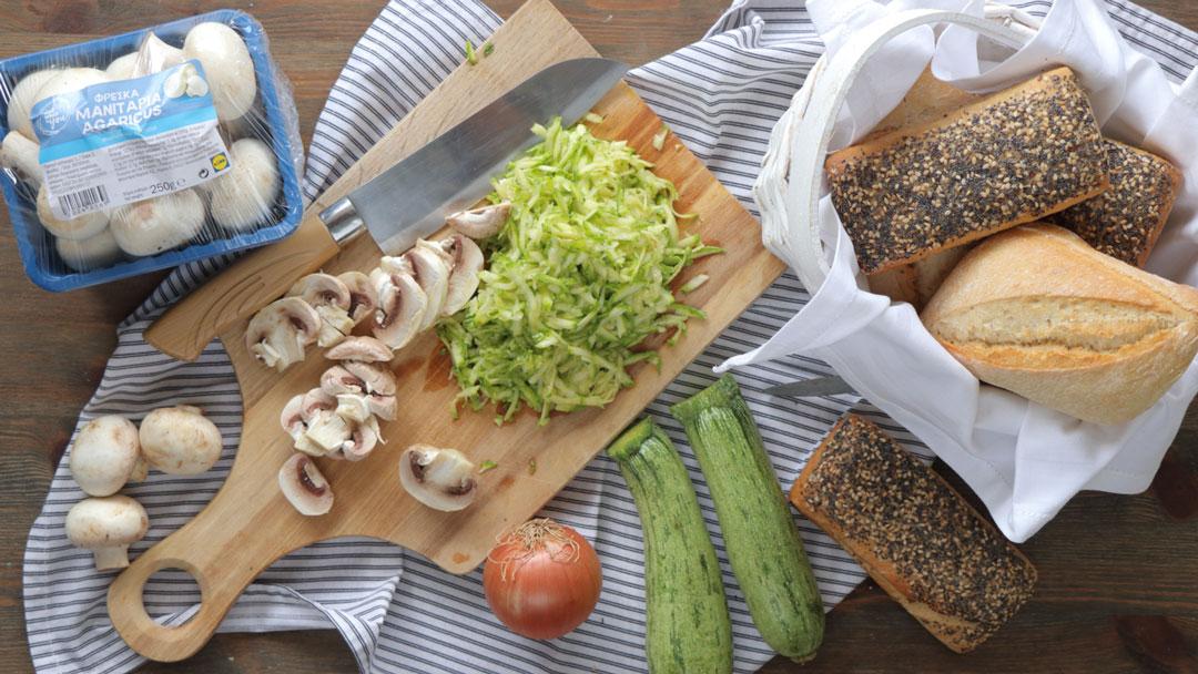 σάντουιτς με λαχανικά
