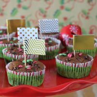 Γιορτινά cupcakes με Nesquik βρώμη και κολοκύθα