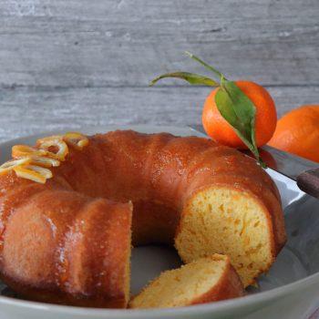 κέικ πορτοκάλι μανταρίνι