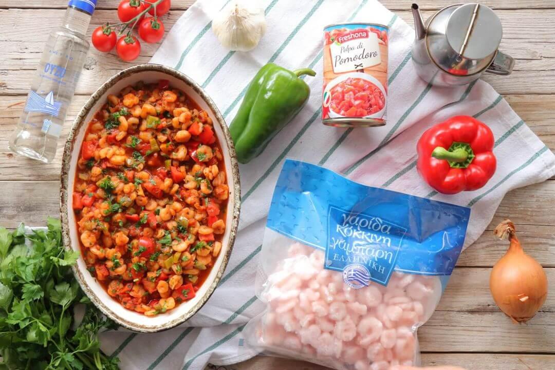 Πικάντικες γαρίδες τηγανιά