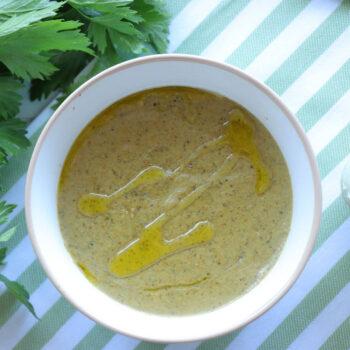Σούπα με μανιτάρια και λαχανικά
