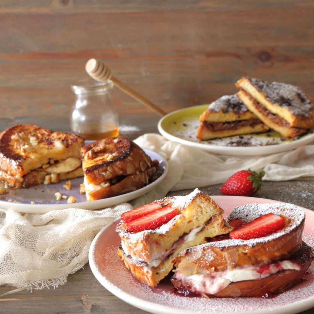French toast με τσουρέκι