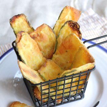 Κολοκυθάκια σαν τηγανιτά στο φούρνο